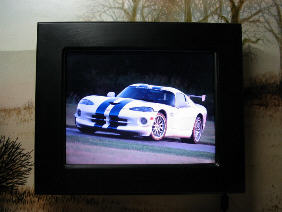 Thumbnail: My digital picture frame displaying a Viper